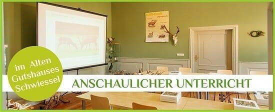 Kompaktkurs für die Jägerprüfung in der Jagdschule Schwiessel