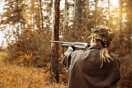 Die Jagd ist reine Männersache?